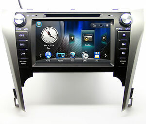 8 Touch Screen Radio Car Dvd Player Gps Navigation For Toyota Camry Right hand