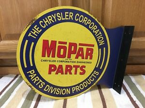 Mopar Chrysler Parts Double Sided Flange Vintage Style Dodge Plymouth Metal