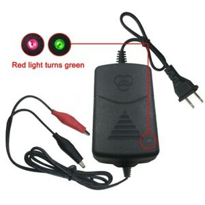 Auto Car Battery Charger Maintainer 12v Amp Volt Trickle Rv Motorcycle Mower Rf
