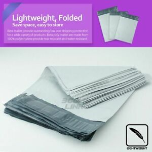 Poly Mailers Shipping Mailing Packaging Plastic Envelope Self Sealing Bags White