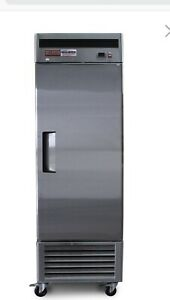 1 Door Freezer Commercial Frozen Stainless Single Reach In New Up Right