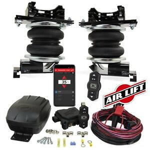 Air Lift Loadlifter5000 Air Springs Wireless One Compressor For 09 18 Ram 1500