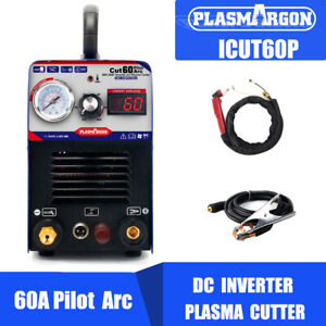 Portable 60a Non touch Pilot Arc Igbt Air Plasma Cutter Machine Cnc Metal Work