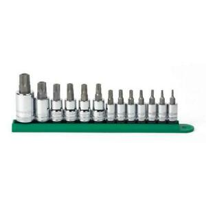 Gearwrench Torx Metric Socket Set 0 5 In Drive Large Hard stamped 13 piece