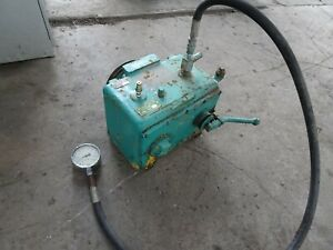 Greenlee 797 Hydraulic Power Pump Large Heavy Bending Crimping Press Cylinder