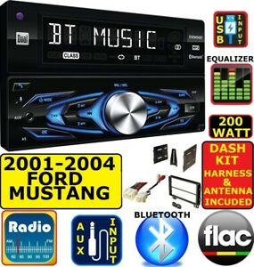 2001 2004 Ford Mustang Bluetooth Usb Aux Car Radio Stereo Package