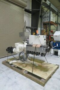 Davis Standard Hpe 150a Used Adjustable Extruder 1 5in 15hp Yr 2007 8580