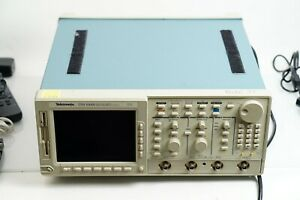 Tektronix Tds644b Digital Real time Oscilloscope 500mhz 4 ch 2 5gs s Passed Test