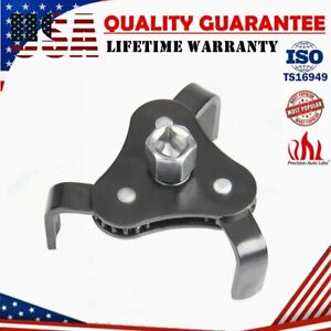 Adjustable Two Way Oil Filter Wrench Drive 3 Jaw Remover 60 127mm Removal Tool