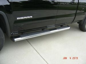 Oem Gm Chrome Oval Step Bars Running Boards Silverado Sierra 2011 2018
