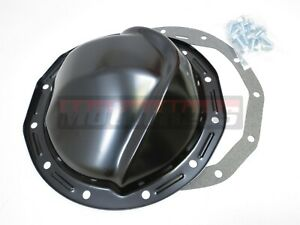 Chevy Gm Intermediate Camaro Black Differential Cover 12 Bolt 8 8 Ring Gear