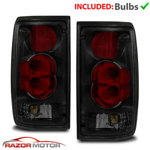 For 1989 1990 1991 1992 1993 1994 1995 Toyota Pickup Black Smoke Tail Lights
