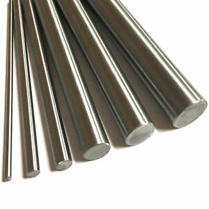 304 Stainless Steel Rod Round Bar Ground Stock Shaft Linear 400mm Length 2 20
