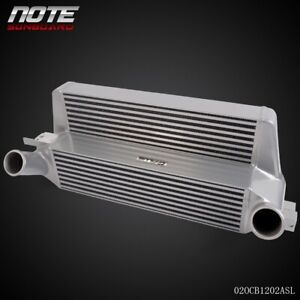 Performance Front Mount Intercooler Silver For 2015 Ford Mustang 2 3l Ecoboost