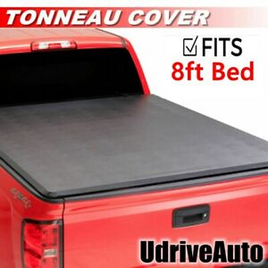 Lock Soft Roll Up Tonneau Cover For 2009 2018 Ford F 150 96in Bed