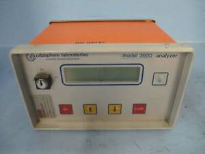 Orbisphere Laboratories Analyzer 3600 320 e Oxygen Controller Ozone Analyser