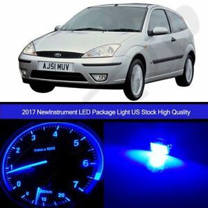 Speedometer Gauge Cluster Dash Blue Light Led Package For 2000 2003 Ford Focus