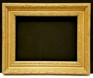 9 X 12 Standard Picture Frame 2 1 4 Wide Gold Leaf Classic Carved Canvas Allow