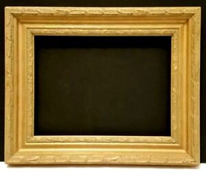 8 X 10 Standard Picture Frame 2 1 4 Wide Gold Leaf Classic Carved Canvas Allow