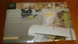 Laminating Pouch Set By Easy Home 20 8 5 X 11 And 20 11 X 17 New