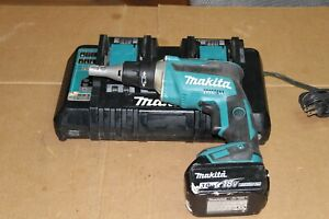 Makita Xsf03 18v Dry Wall Screwdriver W 18v 3 0ah Battery Dc18rd Charger