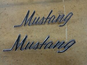 1969 1973 Ford Mustang Emblem C9zb 16098 A Cdc 6 1 2 Long Vintage Mustang