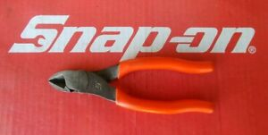 Snap On Tools 6 Long Soft Grip Vectoredge Diagonal Cutter 86acf Ships Free