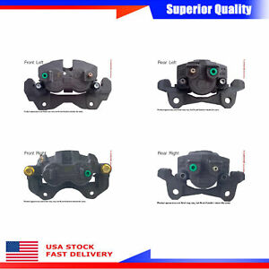 4pcs Brake Caliper Front Rear For 99 2002 Jeep Grand Cherokee Limited