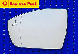 Left Side Mirror Glass For Ford Kuga 2008 Onward Heated Convex Blind Spot