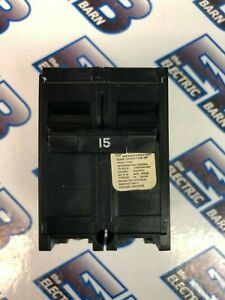 Crouse Hinds Mp215 2 Pole 15 Amp 240 Volt Circuit Breaker Warranty