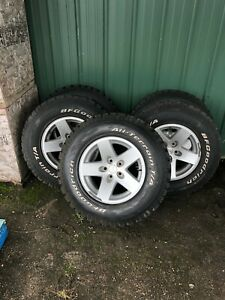 Lt245 75 R16 Rims And Tires For Jeep Wrangler rubicon Like New Tread Quantity
