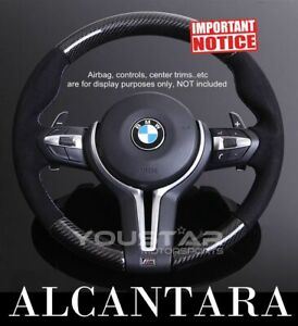 Express Carbon Steering Wheel Alcantara For Bmw F20 F21 F22 F30 F32 F87 F80 F82
