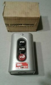 Barber Colman Yzc 11 Open close stop Overhead Door Control Station