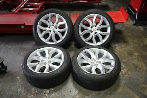 Set Of 4 Chevrolet Impala 2014 2015 2016 2017 2018 19 Oem 245 45 19 Rims Tires