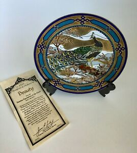 Beauty By Mou Sien Tseng Timeless Expressions Of Orient Cloisonne Plate