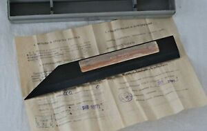 Straight Edge 200 Mm Machinists Precision Knife Edge Straightedge Nos Ussr Made