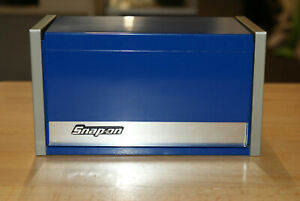 Snap On Royal Blue Mini Micro Tool Box Top Chest New 12359