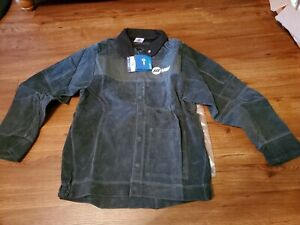 Miller Leather Welding Jacket Size 2x Large