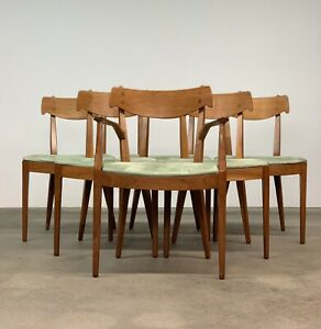 Drexel Declaration Set 6 Dining Chairs By Kipp Stewart