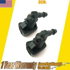 Windshield Wiper Washer Spray Nozzle For 11 17 Jeep Grand Cherokee 68260443aa Us