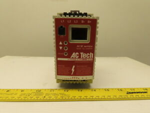 Ac Tech Sm405 Variable Speed Ac Motor Drive 5hp 37kw