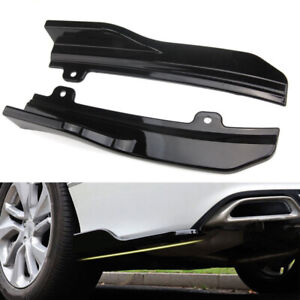 For Honda Accord 2018 Car Rear Bumper Skirt Black Abs Lip Side Wing Auto Parts