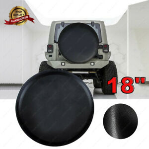 Universal For Jeep Wrangler Spare Tire Wheel Soft Cover Leather Protector 33 35