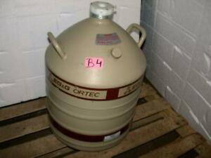 Mve Cryogenics Eg G Ortec Model Al 30 Liquid Nitrogen Storage Flask Dewar
