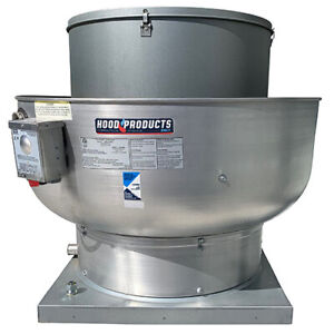 Commercial Restaurant Kitchen Exhaust Fan 600 1050 Cfm With Speed Control