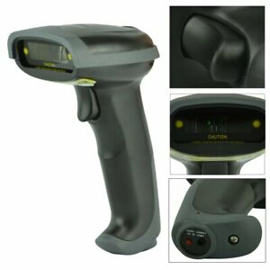 Wireless Bluetooth Wifi Barcode Scanner Gun Handheld Laser Reader Scan Usb Cable