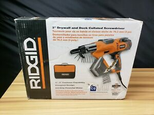 Ridgid 3 Drywall Deck Collated Screwdriver R6791 Brand New i 4182