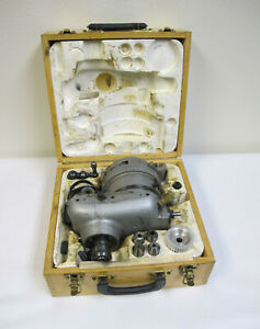 Volstro Rotary Milling Head In Case W Accessories Completed Set R8 Bridgeport