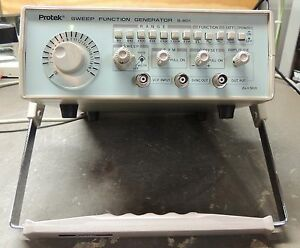 Protek B 801 2mhz Sweep function Generator Tested And Working Nice