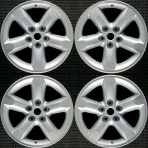 Set 2006 2007 2008 Dodge Ram 1500 Oem Factory 5jy53pakaa Silver Wheels Rims 2267